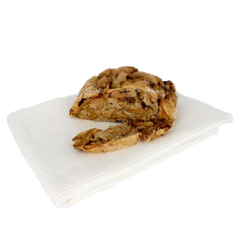 Apfelbrot geschnitten Bäckerei Schuster