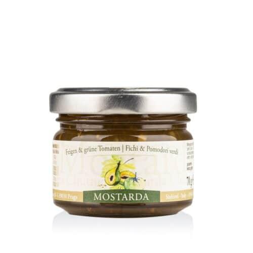 Mostarda Feigen Grüne Tomate Alpe Pragas