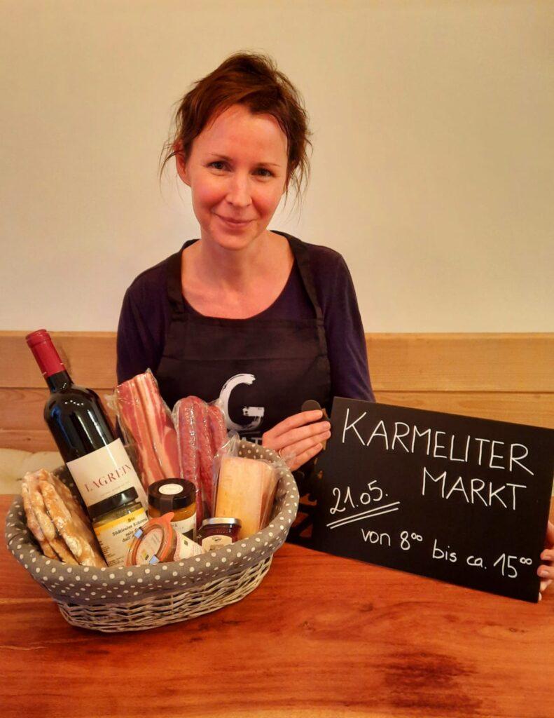Karmelitermarkt am 21.05.